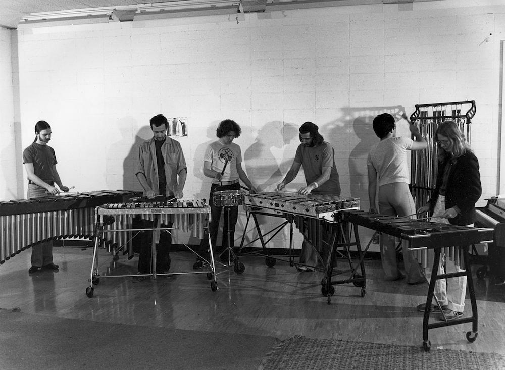 Cal Arts Percussion Ensemble 1979