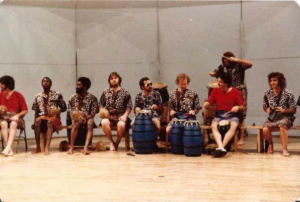 Playing Lead Drum at Cal Arts 1980